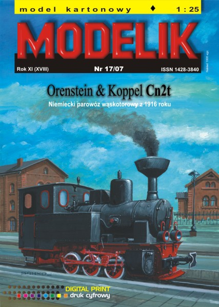 cat. no. 0717: Orenstein & Koppel Cn2t
