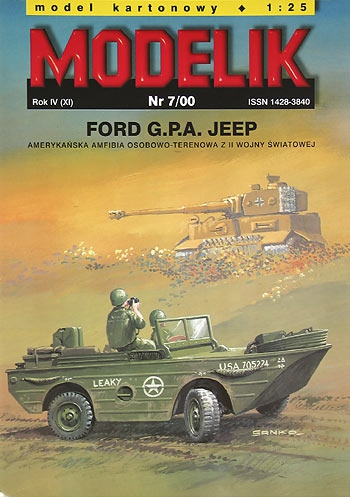 nr kat. 0007: FORD G.P.A. JEEP