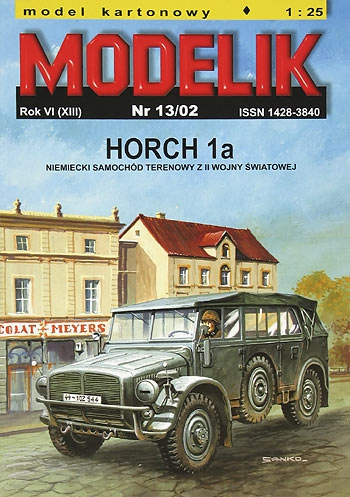 nr kat. 0213: HORCH 1a / EUROPA