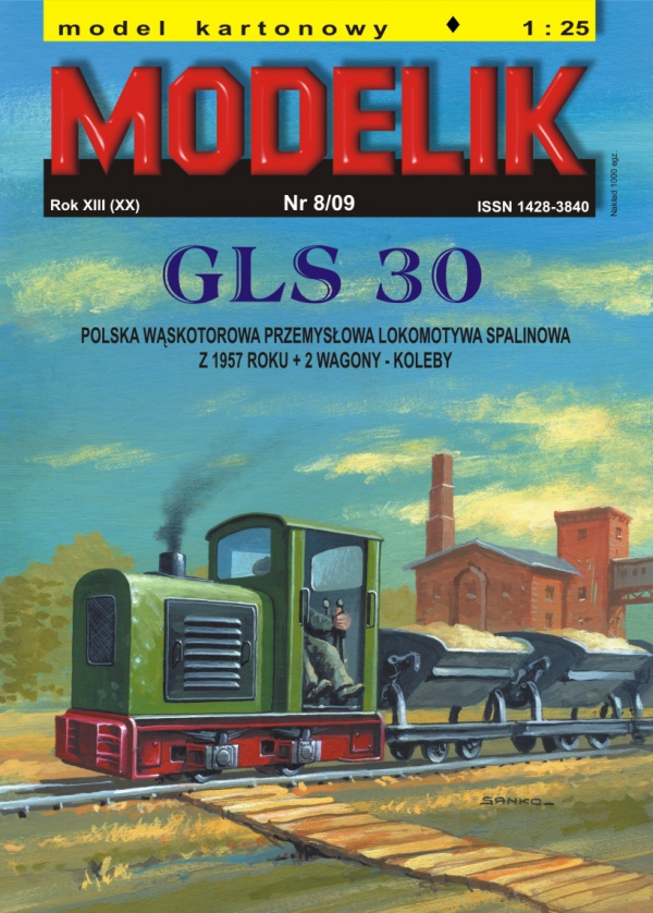 cat. no. 0908: GLS-30 + 2 industrial  cars