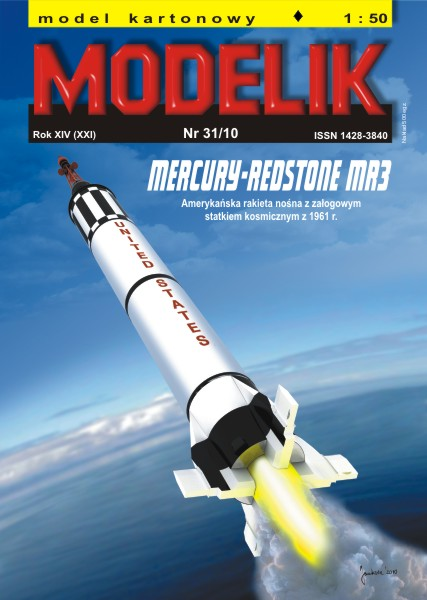 nr kat. 1031: Mercury-Redstone MR3