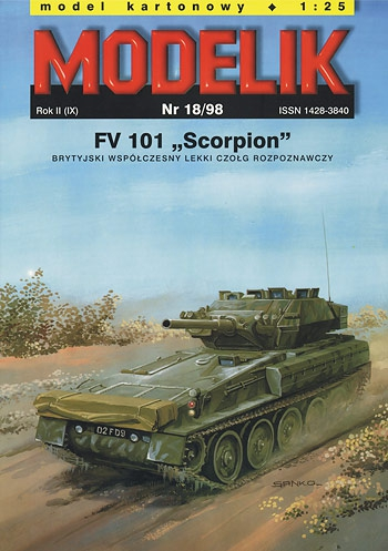 cat. no. 009818: FV 101 SCORPION