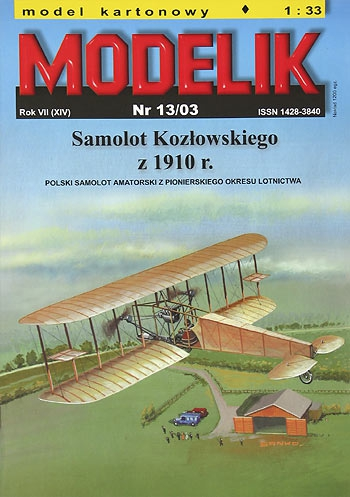 cat. no. 0313: KOZLOWSKI`S PLANE
