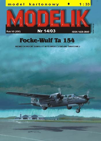 cat. no. 0314: FOCKE-WULF Ta-154