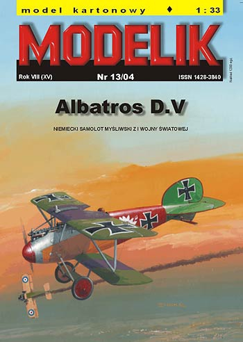 cat. no. 0413: ALBATROS D.V