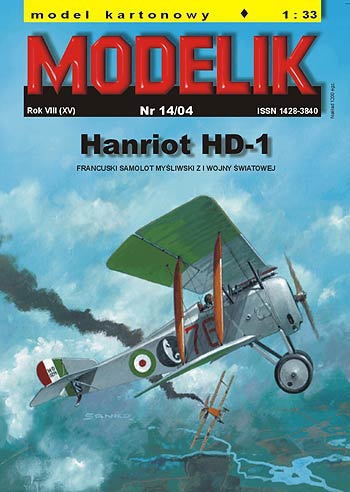 cat. no. 0414: HANRIOT HD-1