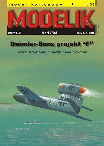 "cat. no. 0417:DAIMLER-BENZ PROJECT ""F"""