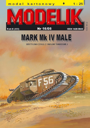 nr kat. 0516: MARK Mk IV MALE