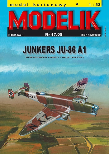 cat. no. 0517: JUNKERS JU-86 A1