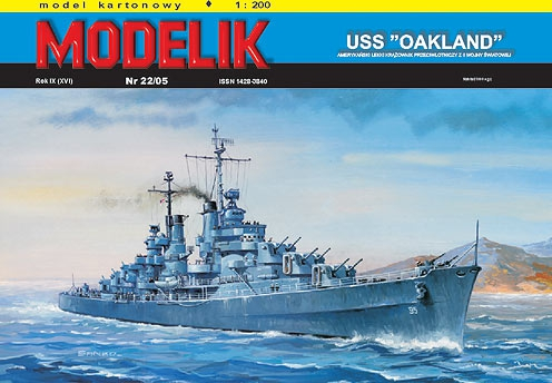 "cat. no. 0522: USS ""OAKLAND"""