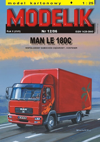 cat. no. 0612: MAN LE 180 C