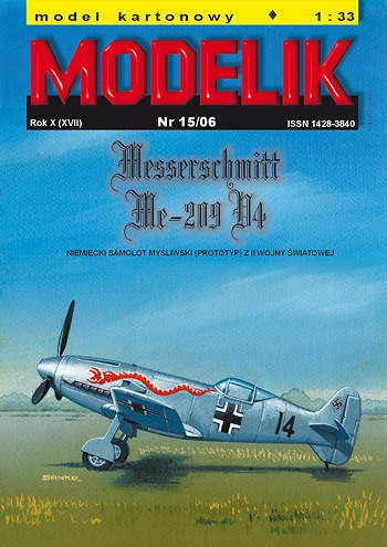 cat. no. 0615: MESSERSCHMITT Me-209 V4