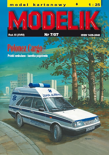 cat. no. 0707: POLONEZ AMBULANCE