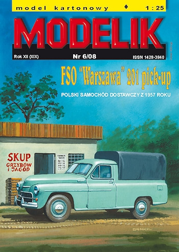 cat. no. 0806: FSO 201 WARSZAWA PICK-UP