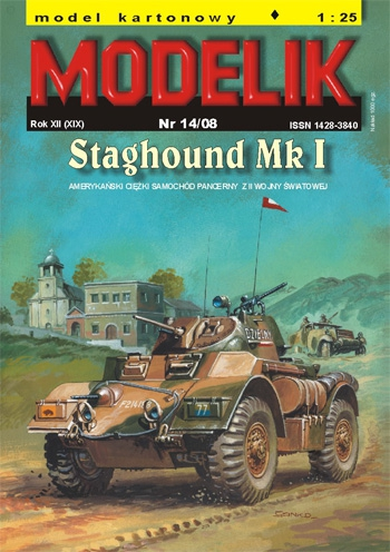 nr kat. 0814: STAGHOUND MK. I