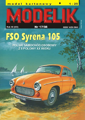 cat. no. 0817: FSM Syrena 105 L