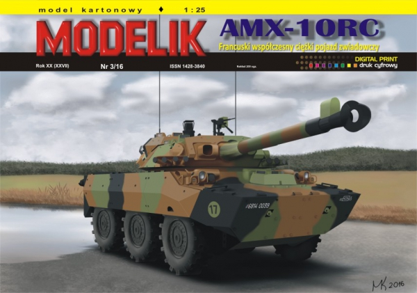 cat. no. 1603: AMX-10RC