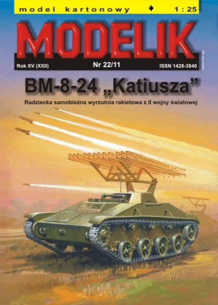 cat. no. 1122: BM-8-24 KATYUSHA