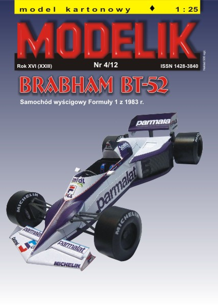 cat. no. 1204: Brabham BT-52