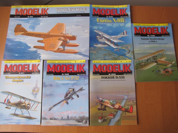 PACKET II – Planes set I