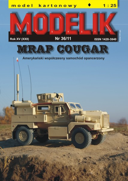 cat. no. 1136: MRAP COUGAR