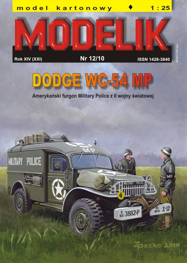 nr kat. 1012: DODGE WC-54 MP