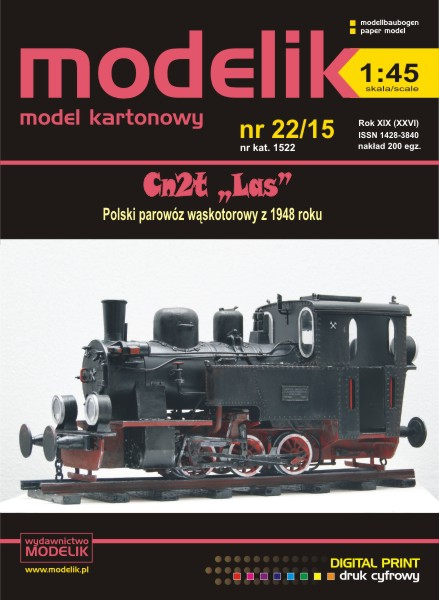 "cat. no. 1522: Cn2t ""LAS"" 1:45"