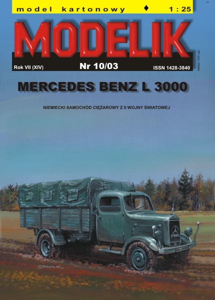 cat. no. 0310: Mercedes L3000