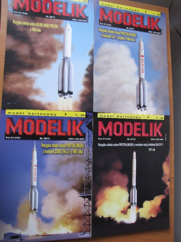 PACKET XI – Space-rockets PROTON