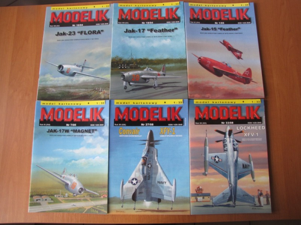 PACKET III – Planes after WW2