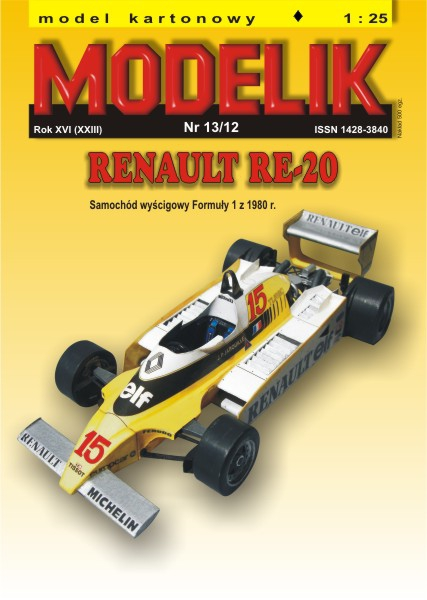 cat. no. 1213: RENAULT RE-20