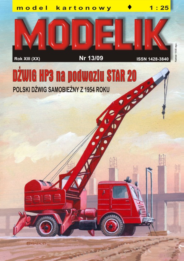 cat. no. 0913: STAR 20 crane HP-3