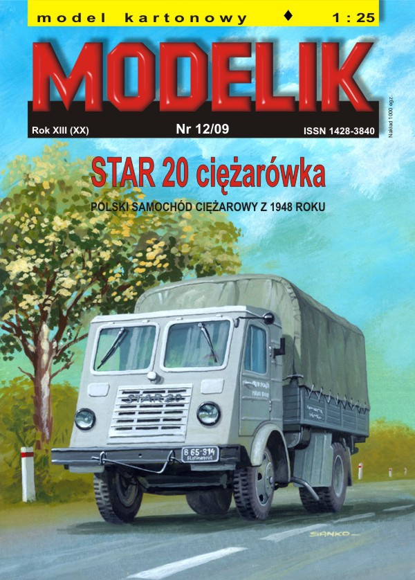 cat. no. 0912: STAR 20 truck