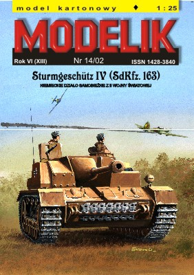 cat. no. 0214: Sd Kfz 163 StuG IV