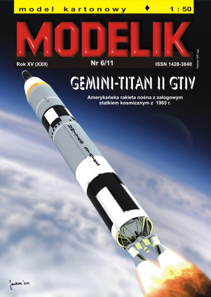 cat. no. 1106: GEMINI-TITAN II