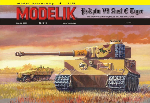 cat. no. 1105: PANZER VI TIGER Ausf.E