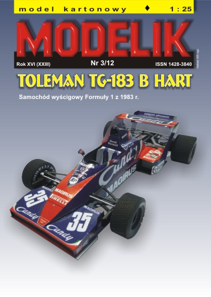cat. no. 1203: Toleman TG-183B Hart