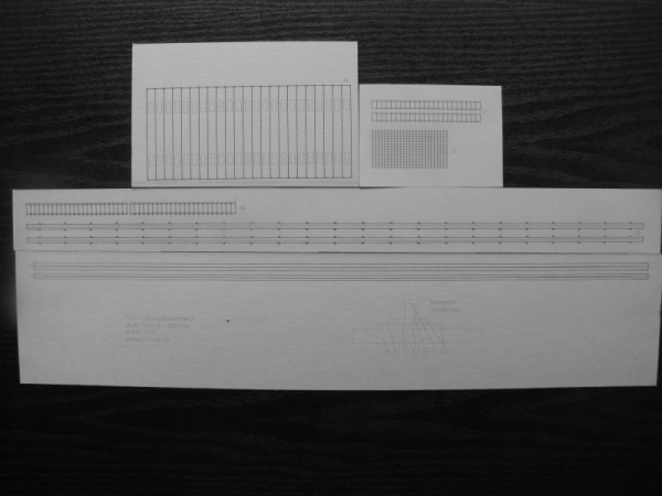 cat. no. T02: Standard track 1:45 (track gauge of 1435 mm - 56.5 in)